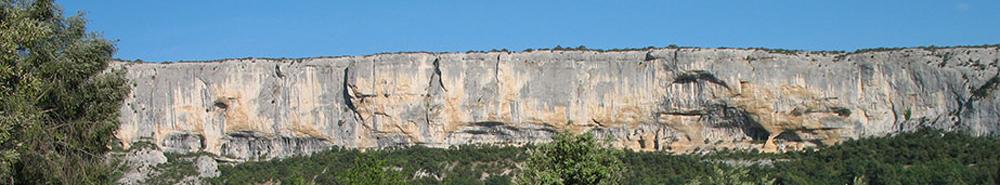 falaise de la Madeleine - Lioux