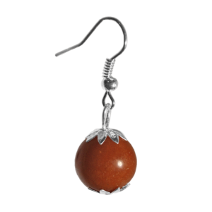 Pendants aventurine rouge