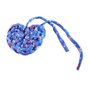 Cœur déco bleu