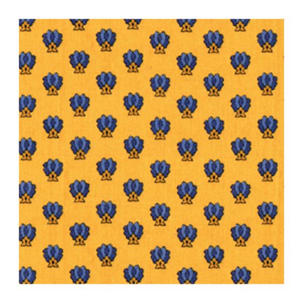 Tissu provençal jaune