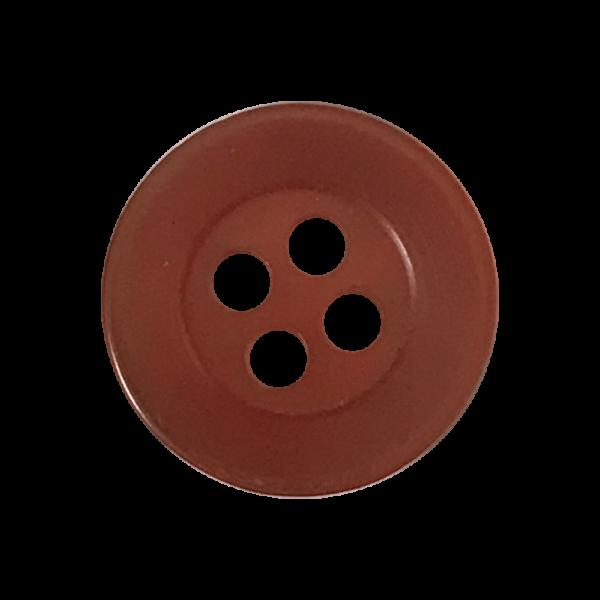 bouton-12mm-4trous-marron